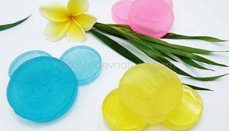 Sabun Transparan Pemutih Muka
