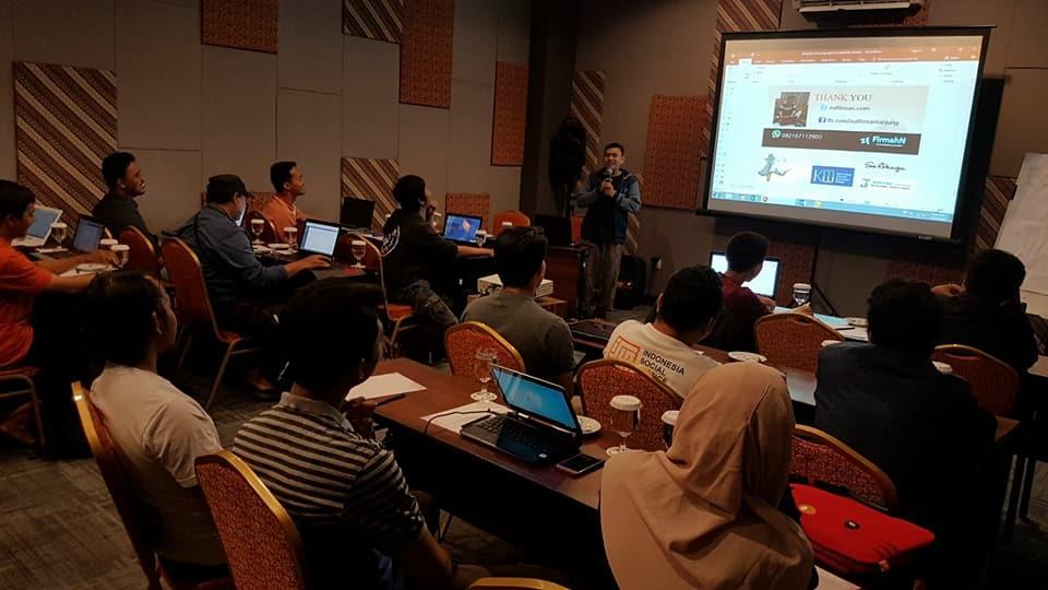 Pembicara Internet Marketing Medan - Pakar Digital Branding Pekanbaru